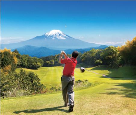 ゴルフなどのスポーツ